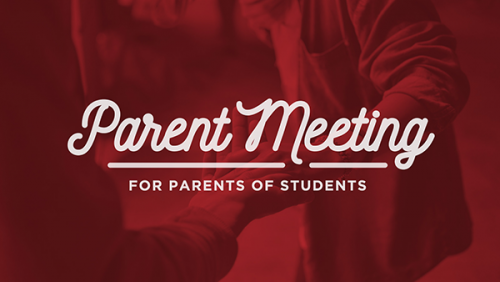 Parent/Congregation Meeting about Children + Youth Ministries