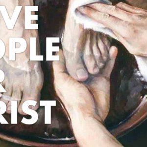 Serve People for Christ